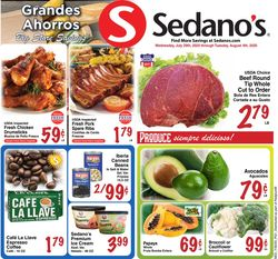 Current weekly ad Sedano's