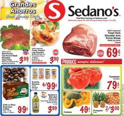 Catalogue Sedano's from 08/05/2020