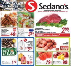 Catalogue Sedano's from 09/16/2020