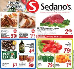Current weekly ad Sedano's