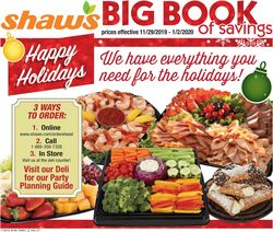 Shaw's - Holiday Ad 2019