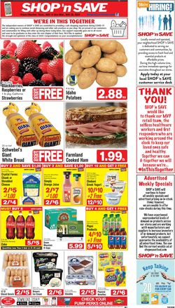 Catalogue Shop 'n Save (Pittsburgh) from 05/14/2020