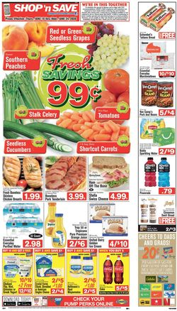 Catalogue Shop 'n Save from 06/18/2020