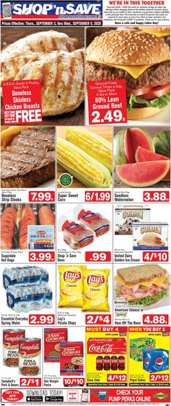 Catalogue Shop 'n Save from 09/03/2020