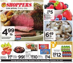Current weekly ad Shoppers Food & Pharmacy