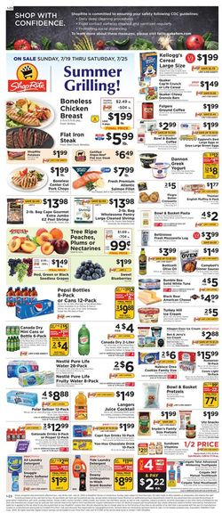 Catalogue ShopRite from 07/19/2020