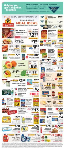 Catalogue ShopRite from 07/26/2020