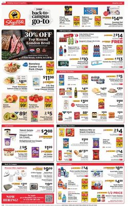 Current weekly ad ShopRite