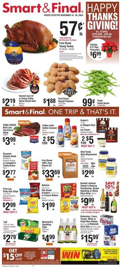 Current weekly ad Smart and Final