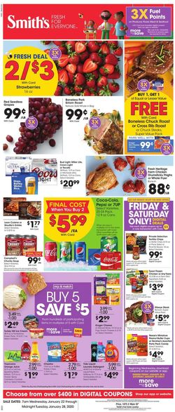 Smith's weekly-ad
