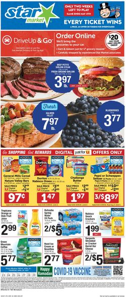 Current weekly ad Star Market