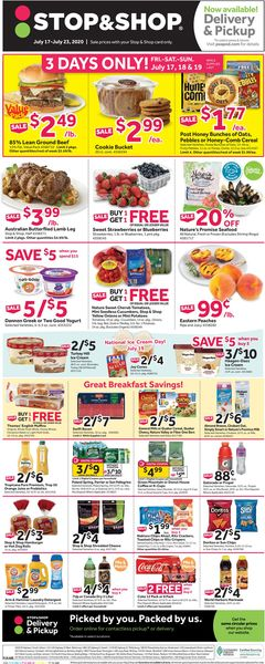 Catalogue Stop and Shop from 07/17/2020