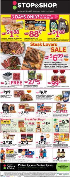 Catalogue Stop and Shop from 07/24/2020