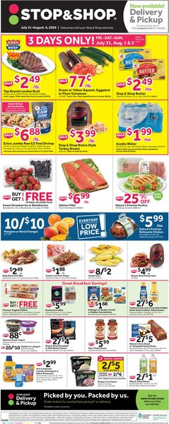 Catalogue Stop and Shop from 07/31/2020