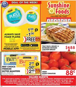 Catalogue Sunshine Foods from 06/02/2021