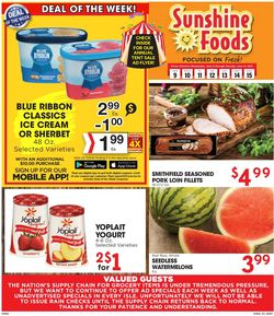 Catalogue Sunshine Foods from 06/09/2021