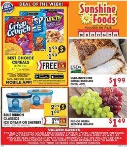 Current weekly ad Sunshine Foods
