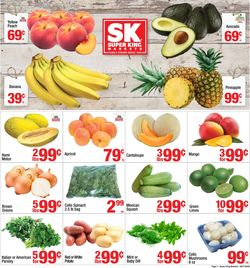 Catalogue Super King Market from 06/17/2020