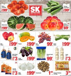 Catalogue Super King Market from 06/24/2020