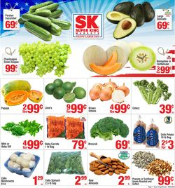 Catalogue Super King Market from 09/02/2020