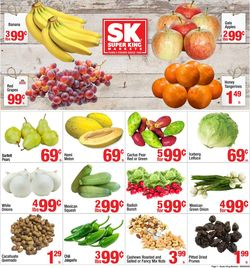Catalogue Super King Market from 09/09/2020
