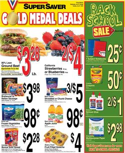 Current weekly ad Super Saver