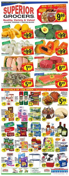 Catalogue Superior Grocers from 06/17/2020