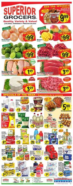 Catalogue Superior Grocers from 06/24/2020