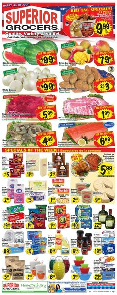 Catalogue Superior Grocers from 07/01/2020