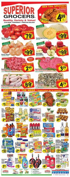 Catalogue Superior Grocers from 08/26/2020