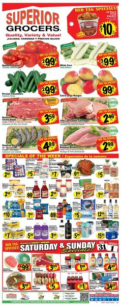 Current weekly ad Superior Grocers
