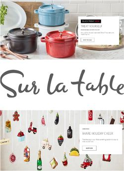 Current weekly ad Sur La Table