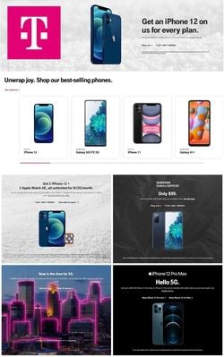 Current weekly ad T-Mobile