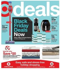 Catalogue Target Black Friday 2020 from 11/01/2020