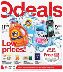 Current weekly ad Target