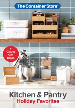 Current weekly ad The Container Store