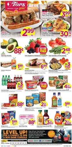 Current weekly ad Tops Friendly Markets