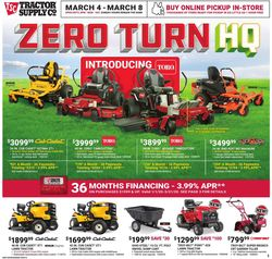 Catalogue Tractor Supply from 03/04/2020