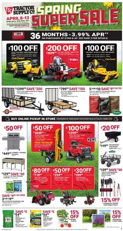 Current weekly ad Tractor Supply