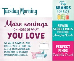 Current weekly ad Tuesday Morning