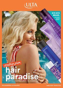 Catalogue Ulta Beauty from 06/28/2020