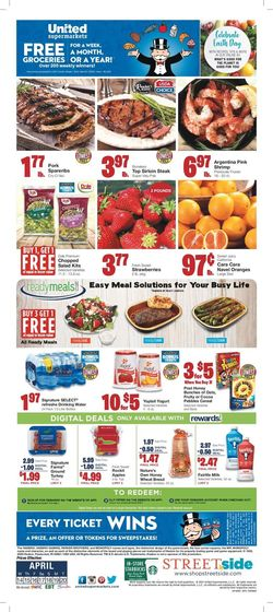 Current weekly ad United Supermarkets