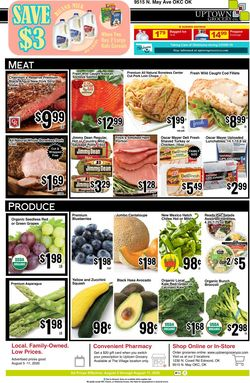 Current weekly ad Uptown Grocery Co.