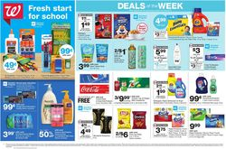 Catalogue Walgreens from 08/09/2020
