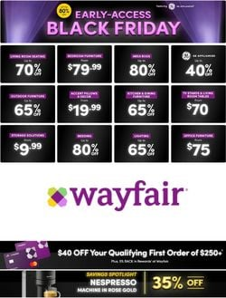 Current weekly ad Wayfair