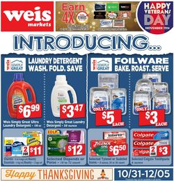 Catalogue Weis - Black Friday Ad 2019 from 10/31/2019