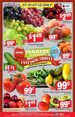 Current weekly ad Weis