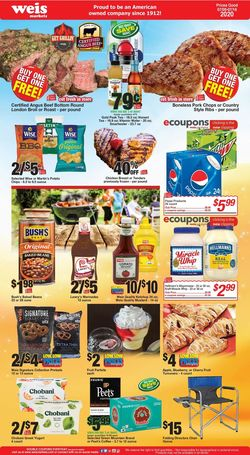 Catalogue Weis from 07/09/2020