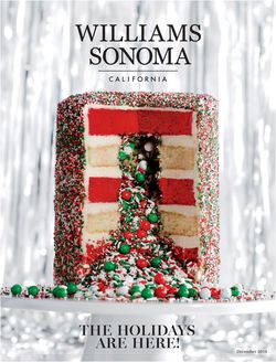 Williams-Sonoma - Holidays Ad 2019