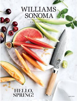 Catalogue Williams-Sonoma from 04/01/2020